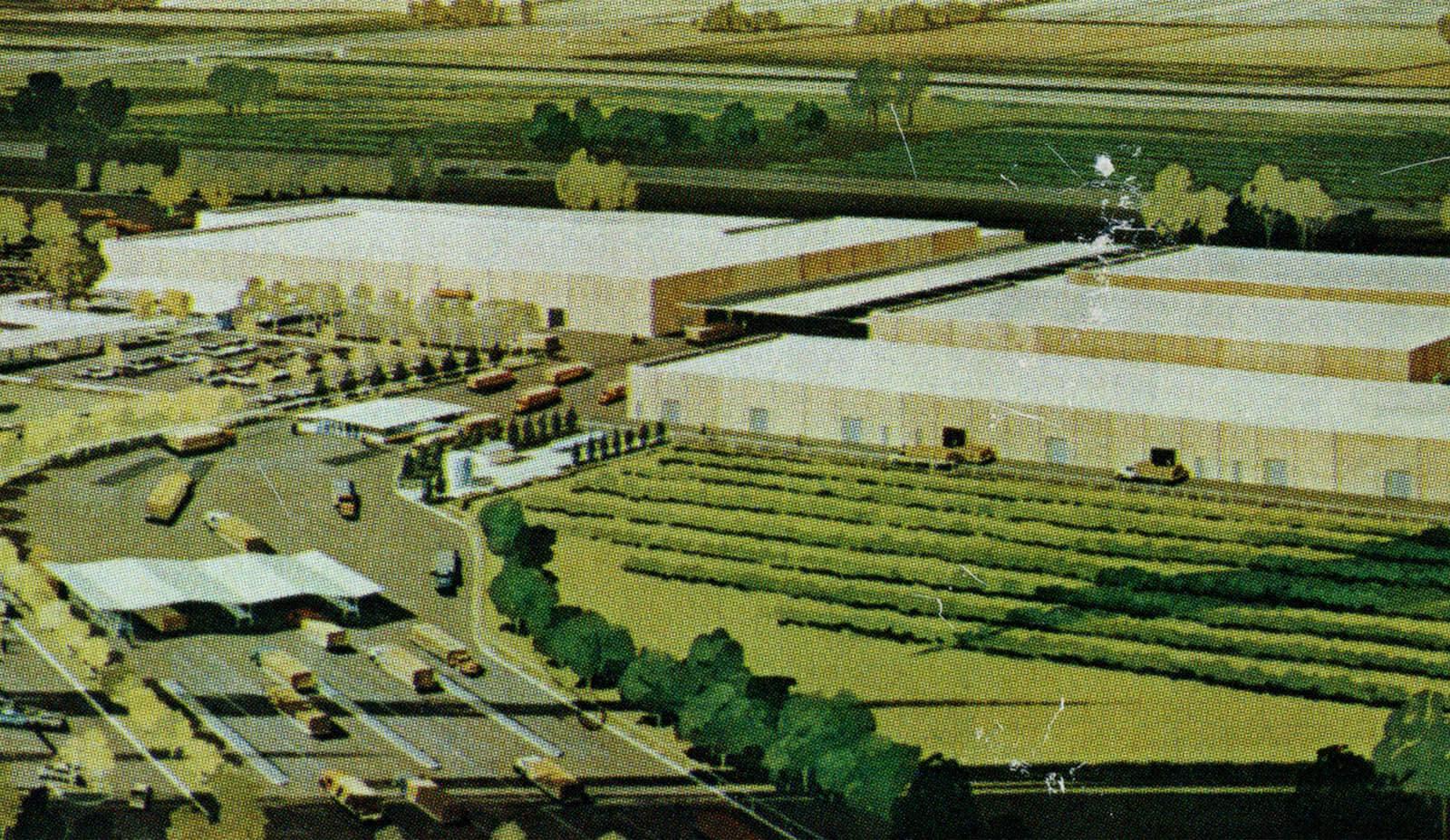 Sun-Maid's factory in Kingsburg, California